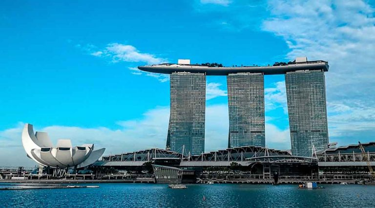 Visum stage singapore marina bay