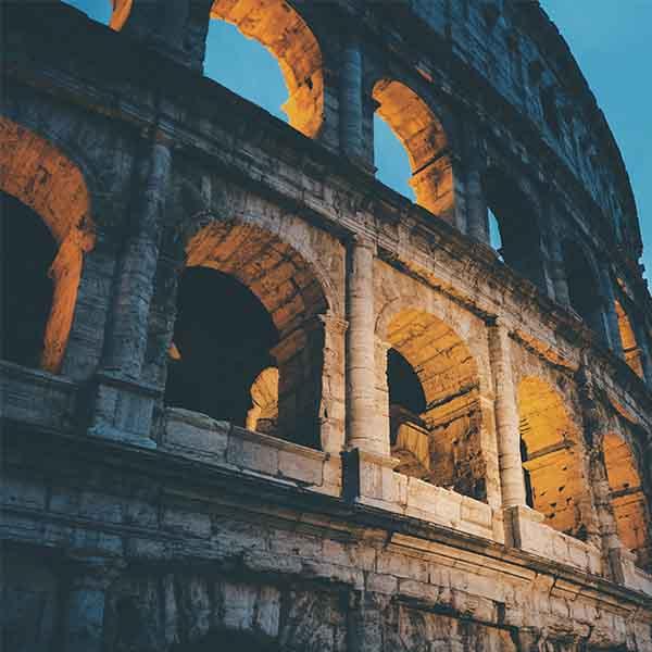 Stage lopen in Europa in Italië
