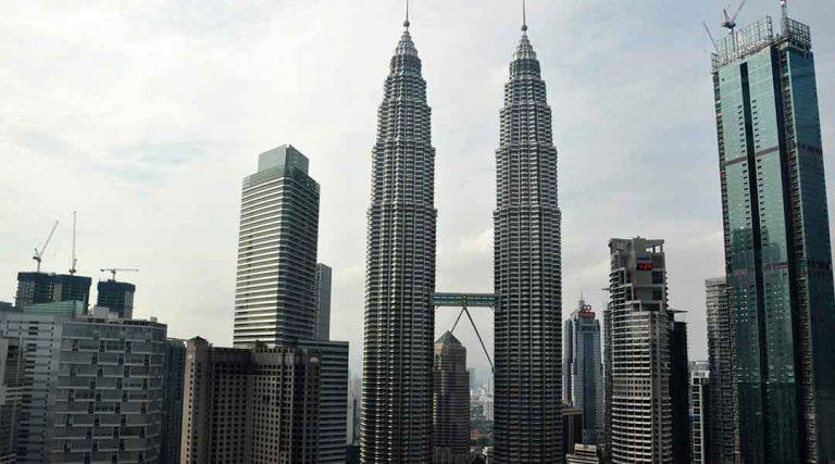 Gebouwen tijdens een stage in Maleisie
