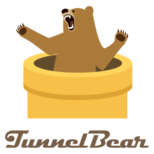 Tunnelbear logo - Best VPN Travel - internet abroad