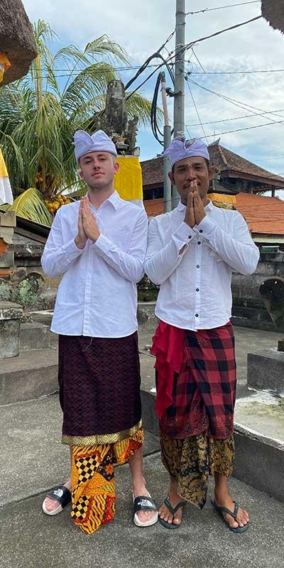 daan stage op bali Bali stage ervaring