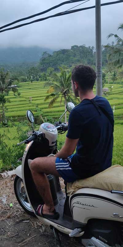 stage daan op bali Bali stage ervaring