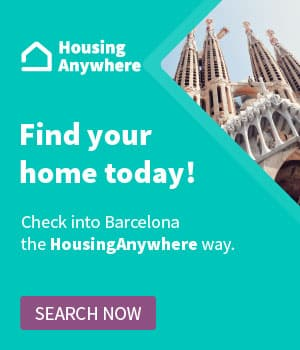 accommodation internship Barcelona