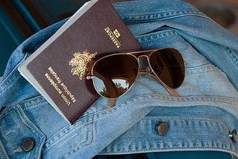 Paspoort met het juiste visum tsjechië