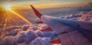 vliegtuig buitenlandse stage coronavirus