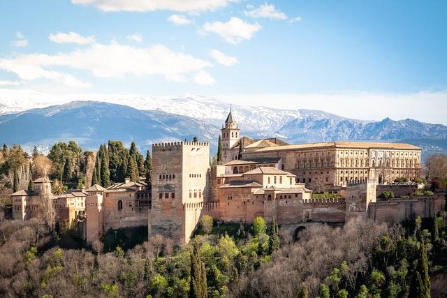 alhambra Top 10 toeristische attracties in Spanje