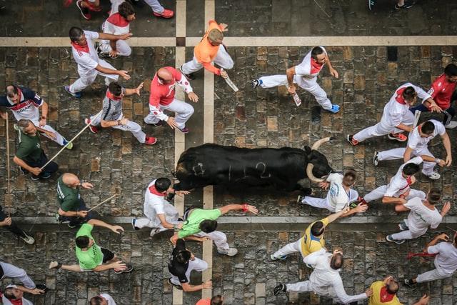 running of the bulls Top 10 toeristische attracties in Spanje