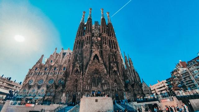 sagrada familia Top 10 toeristische attracties in Spanje